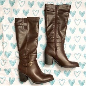 Natural Soul tall boots